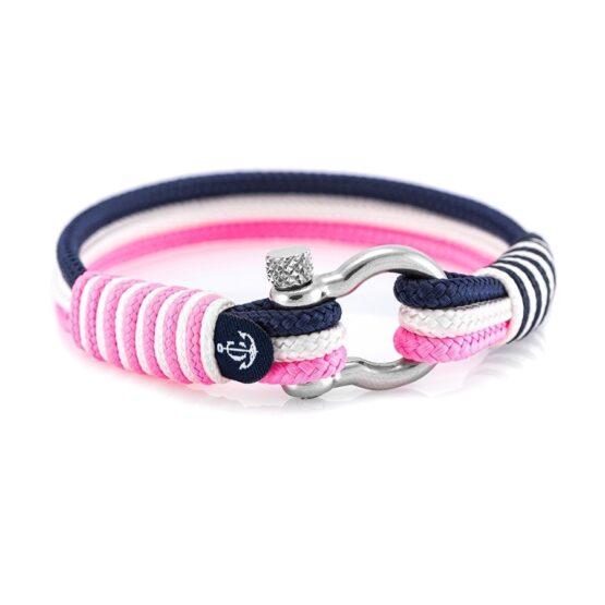 Морской розовый браслет для женщин — № 3128