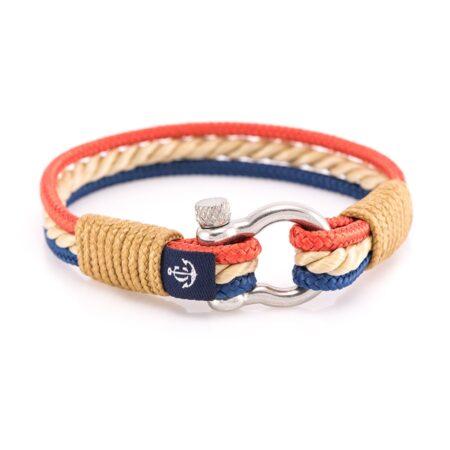 Трехцветный морской браслет для мужчин и женщин — № 4045