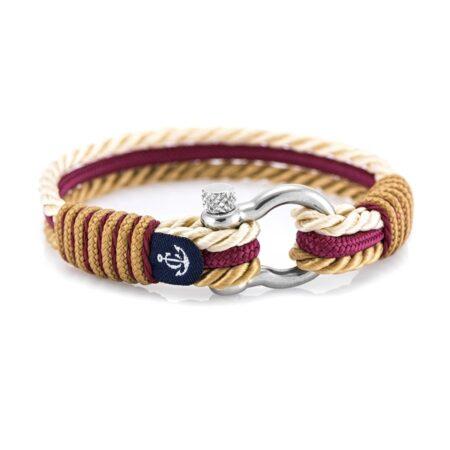 Трёхцветный браслет для женщин и мужчин — № 4059