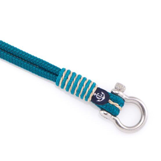 Морской браслет голубого цвета — 4066