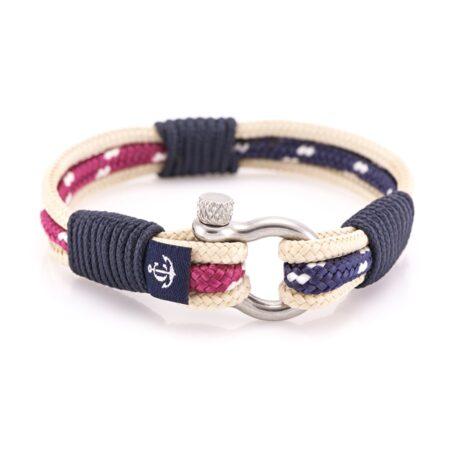 Морской браслет комбинированный для мужчин и женщин — №5025 R