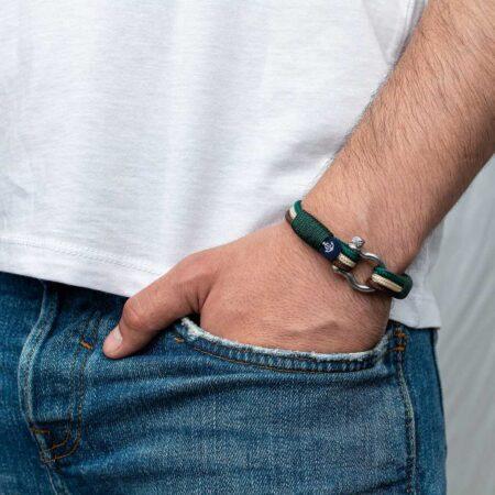 Комбинированный браслет для мужчин и женщин — № 5029 фото 4