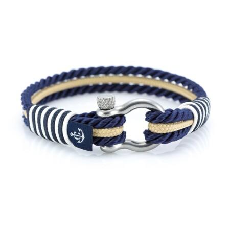 Морской синий браслет для мужчин и женщин — № 5074