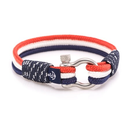 Морской трёхцветный браслет для мужчин и женщин — № 7514