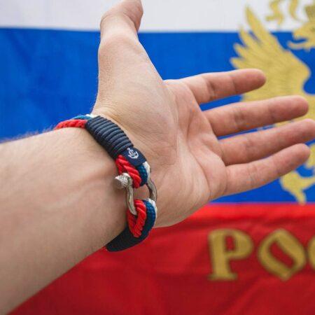 Морской браслет для мужчин и женщин — ПАТРИОТ РОССИИ #7531