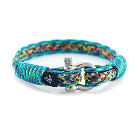 Комбинированный цветной тонкий браслет для женщин и мужчин — № 811