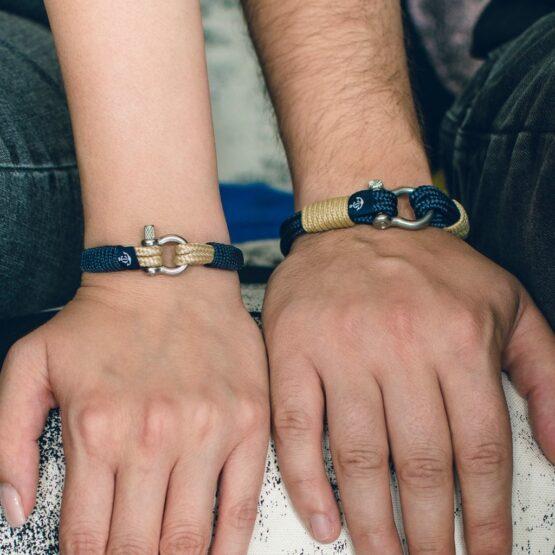Парные браслеты для влюбленных — DUO 909