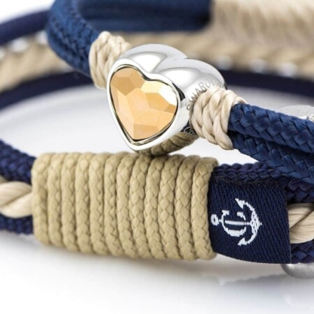 Парные браслеты для влюбленных — Swarovski DUO 917