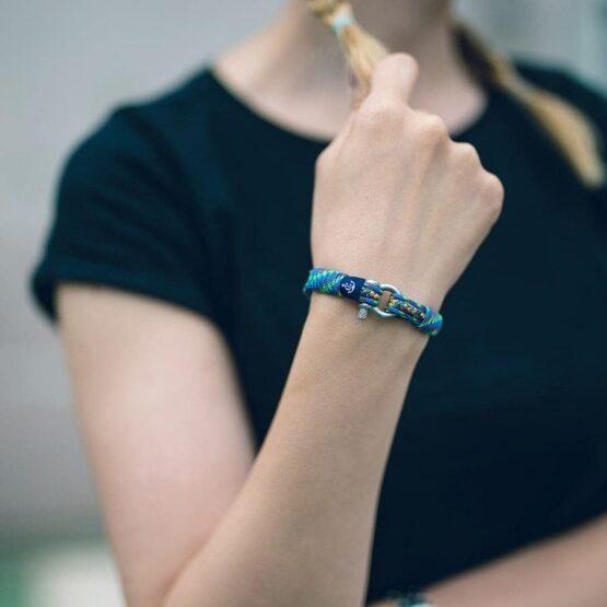 Комбинированный цветной тонкий браслет для женщин и мужчин — № 811 R