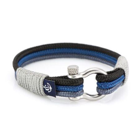 Морской браслет для мужчин и женщин в синих тонах — № 3095 фото 4