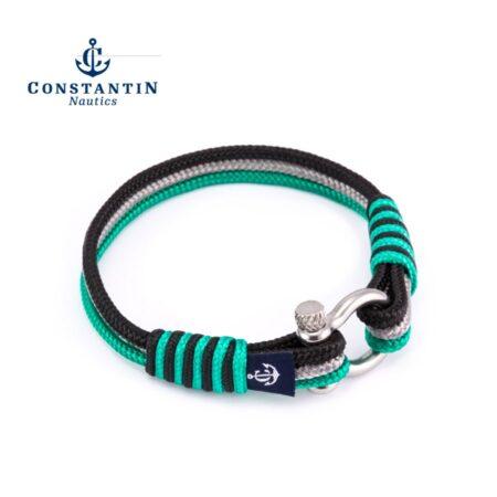Морской браслет для мужчин и женщин трёхцветный — № 7508 R