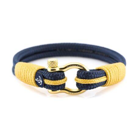 Синий морской браслет на руку для мужчин и женщин — SUNRISE 4085