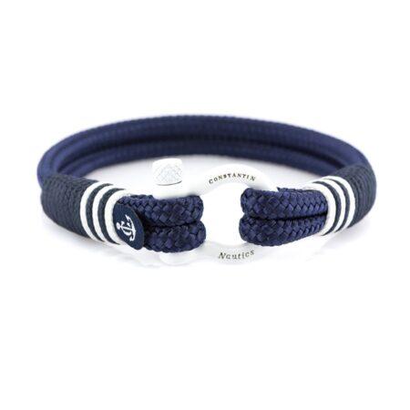 Синий морской браслет на руку для мужчин и женщин — SUNRISE 4098