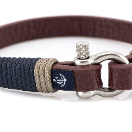 Кожаный браслет — Jack Tar #10000