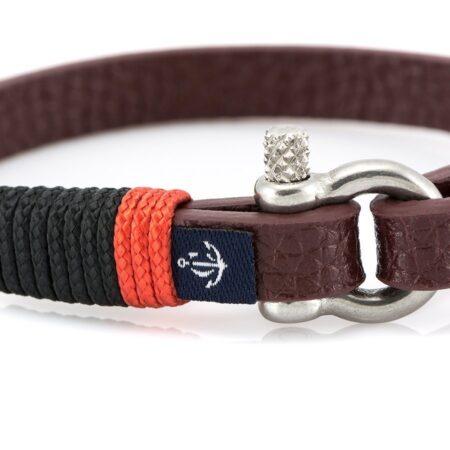 Кожаный браслет — Jack Tar #10001