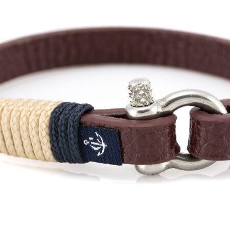 Кожаный браслет — Jack Tar #10002