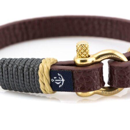 Кожаный браслет – Jack Tar #10003