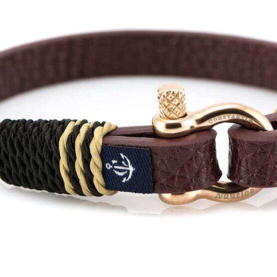 Кожаный браслет — Jack Tar #10004