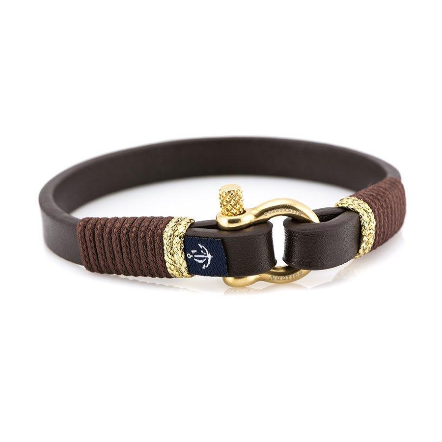 Кожаный браслет — Jack Tar #10009