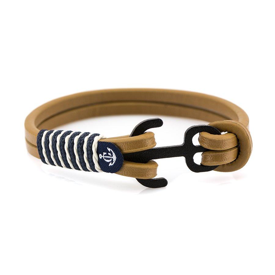 Кожаный браслет — Jack Tar #10013
