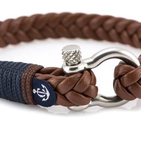 Кожаный браслет — Jack Tar #10018