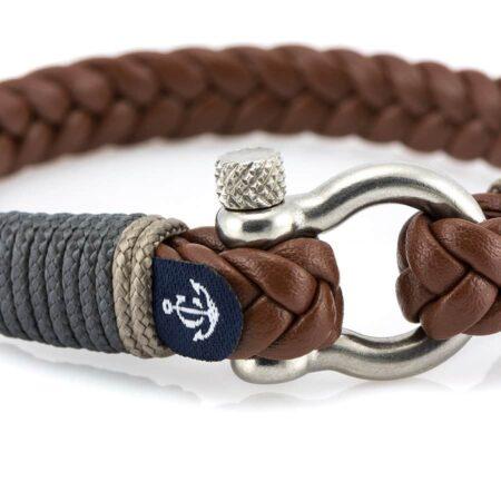 Кожаный браслет — Jack Tar #10019
