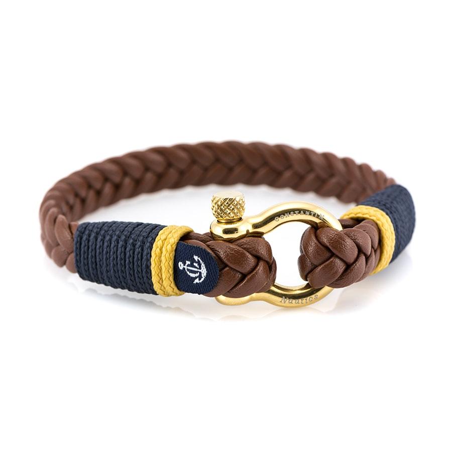 Кожаный браслет — Jack Tar #10020