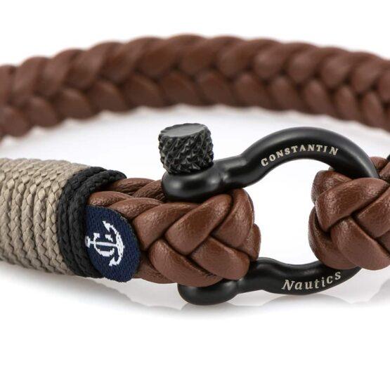 Кожаный браслет — Jack Tar #10023