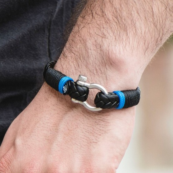 Кожаный браслет — Jack Tar #10024