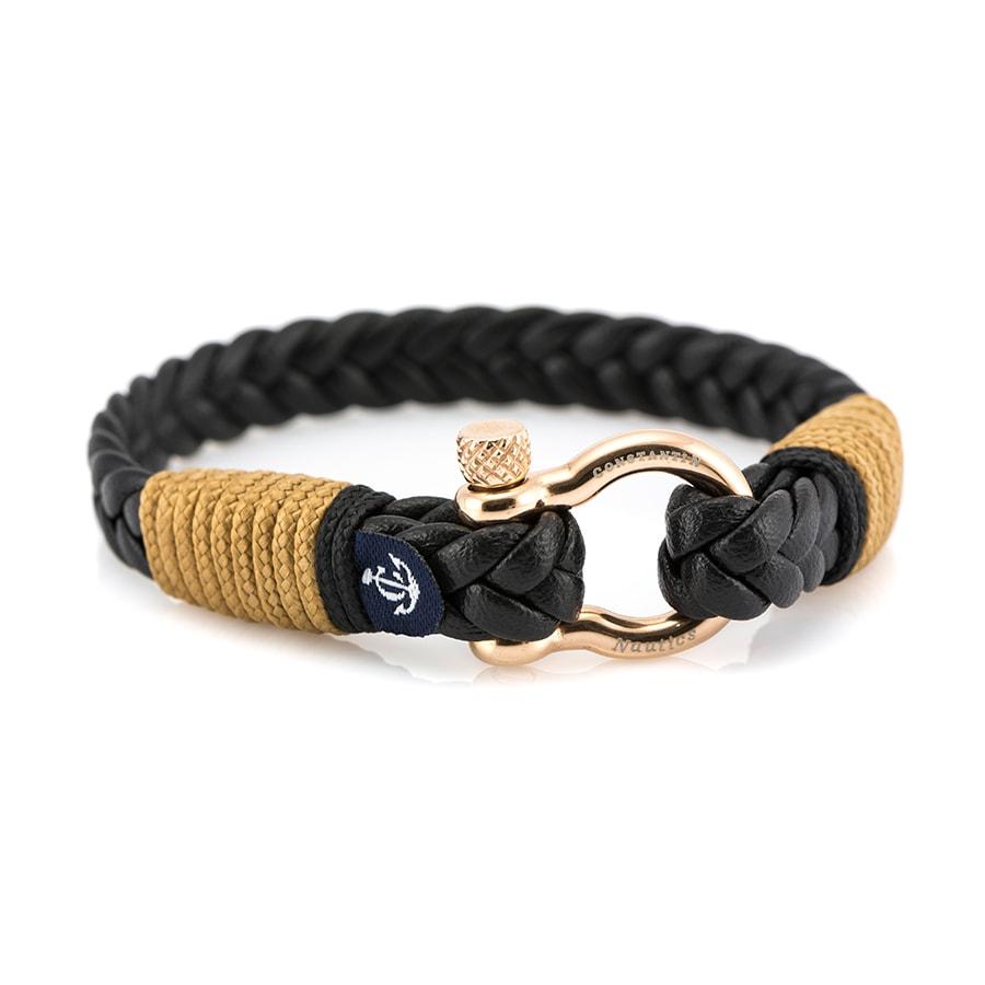 Кожаный браслет — Jack Tar #10027