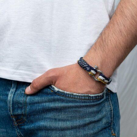 Морской браслет для мужчин и женщин — № 4036 фото 5