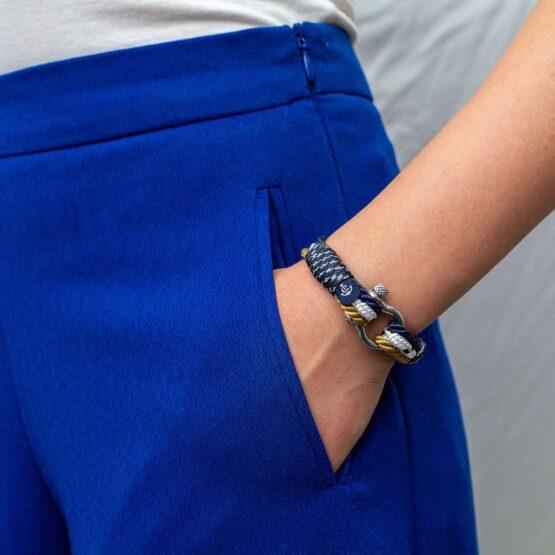 Морской браслет для мужчин и женщин — № 4036 фото 6