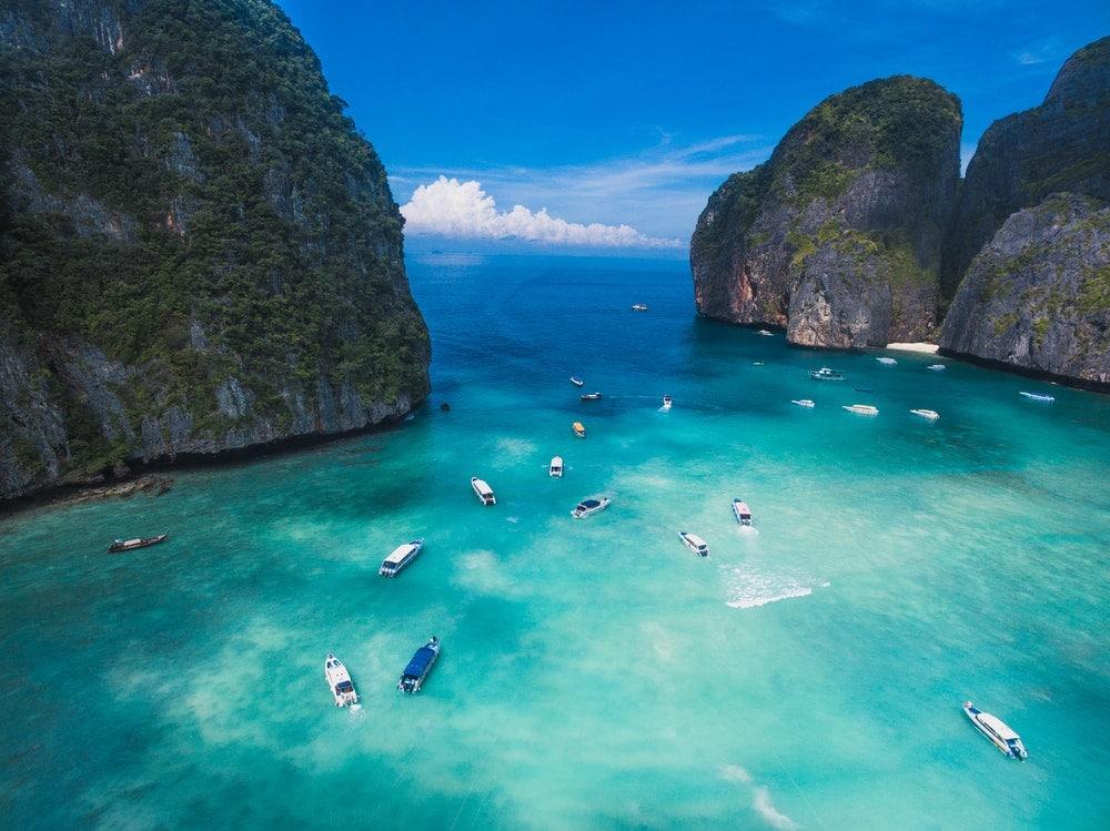 Майа-Бэй, остров Пхи-Пхи, Таиланд