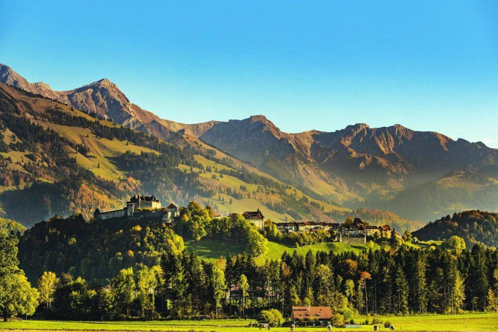 Сказочная Швейцария. Волшебный город Грюйер