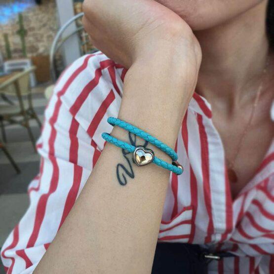 Кожаный браслет SWAROVSKI CNB #7227