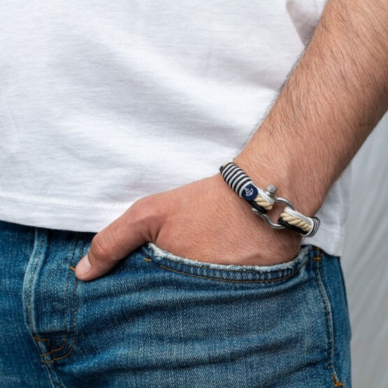 Морской браслет для мужчин и женщин — № 4038 R