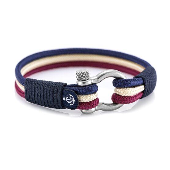 Трёхцветный морской браслет для мужчин и женщин № 5023 R