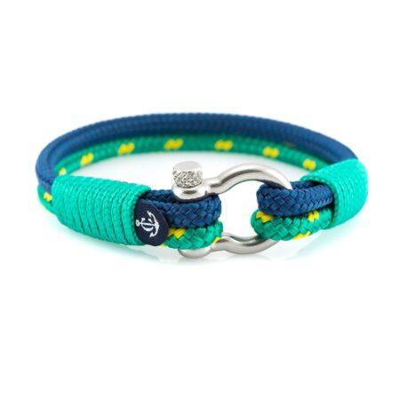 Женский морской браслет с голубым оттенком — № 3019 R