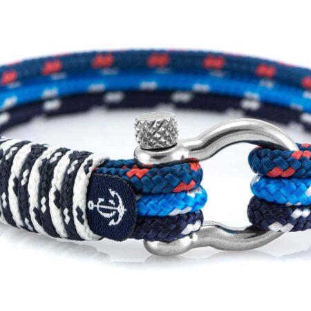 Комбинированный морской браслет для мужчин и женщин — № 5024 R