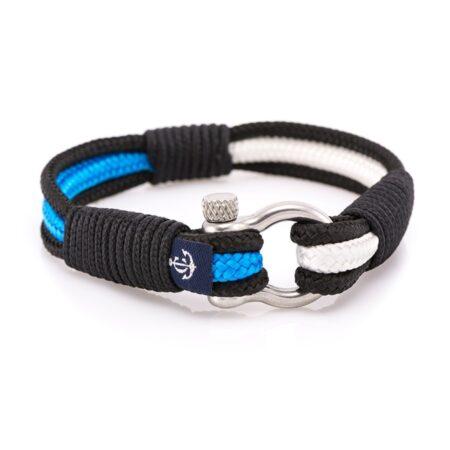 Морской браслет бело-синего цвета для мужчин и женщин — № 3077 R