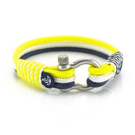 Морской браслет жёлтого цвета для Мужчин и Женщин — № 3123 R