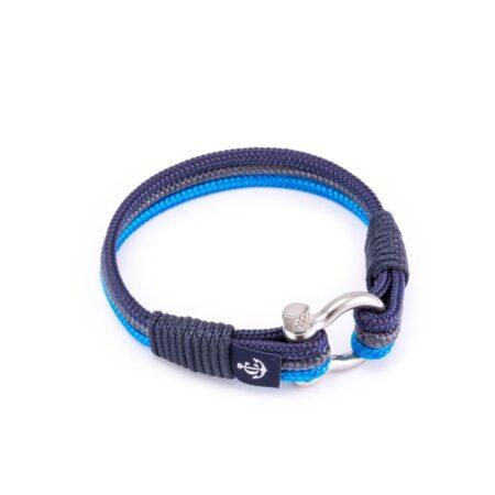 Морской браслет в синих тонах для мужчин и женщин — № 5059 R