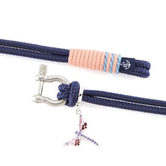 Женский синий браслет с камнем Сваровски — SWAROVSKI 7219