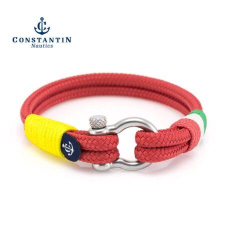 Красный Морской браслет Унисекс — YACHTING #5100