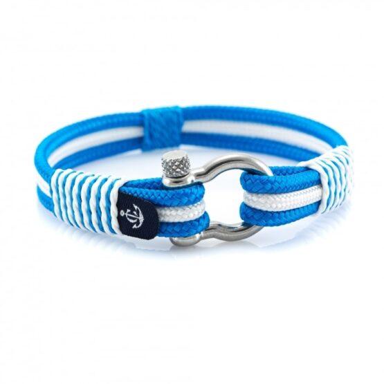 Бело-Синий Морской Браслет Унисекс — YACHTING #5102