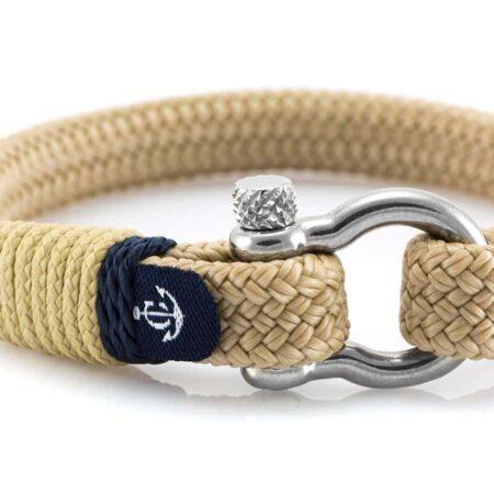 Бежевый браслет для Мужчин и Женщин — № 5109 фото 2