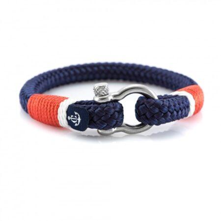Темно-синий браслет с красным акцентом для мужчин и женщин — CORSAIR  5110