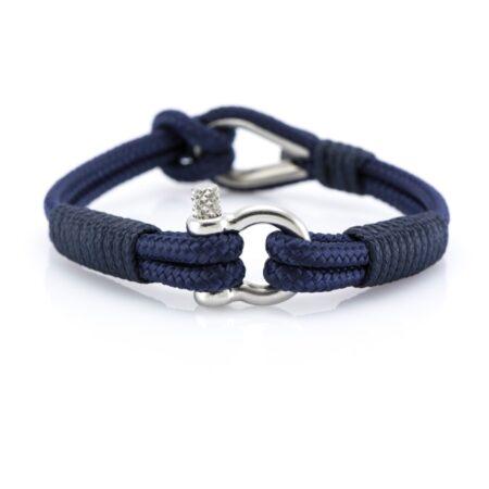 Тёмно-Синий браслет морской тематики Унисекс — THIMBLE 720 SLIM