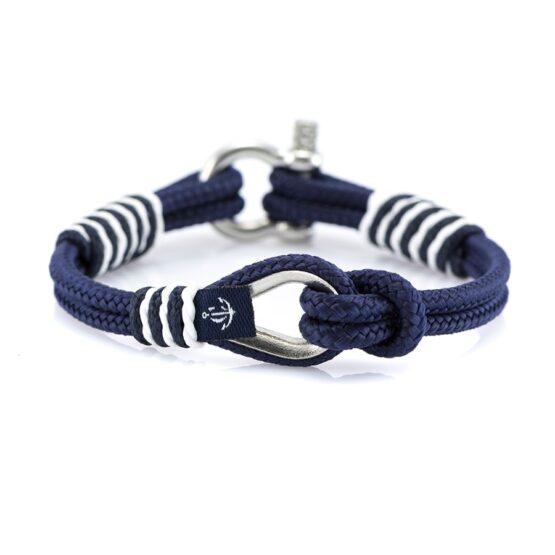 Мужской синий браслет морской тематики  — THIMBLE 722