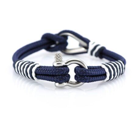 Синий браслет морской тематики Унисекс — THIMBLE 722 SLIM